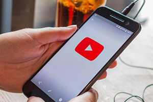 YouTube en el móvil